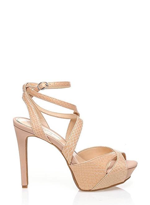 Jessica Simpson Topuklu Ayakkabı Krem